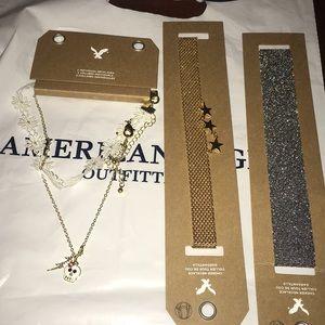 3 Brand New American Eagle Chokers